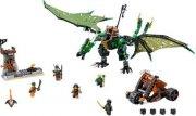 lego ninjago - den grønne nrg-drage (70593) - Lego