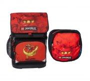 lego - lille skoletaske / rygsæk - ninjago kai - Skole