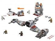lego star wars 75202 - forsvaret af crait - Lego