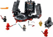 lego star wars - snokes tronsal med 5 lego minifigurer - Lego