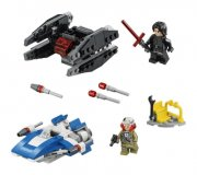 lego star wars 75196 - wing vs. tie silencer microfighters - Lego