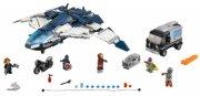 lego super hero - avengers quinjet - kampen i byen (lego 76032) - Lego