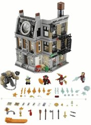 lego super heroes 76108 - opgør i dr. stranges allerhelligste - Lego