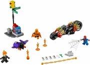 lego super heroes - spider-man: fælles kamp med ghost rider - 76058 - Lego
