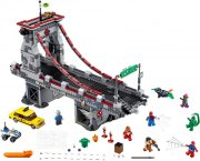lego super heroes - spider-man: edderkoppekrigernes ultimative kamp på broen - 76057 - Lego