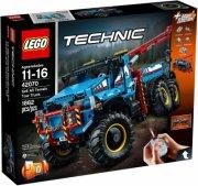 lego technic 42070 - sekshjulet terrængående kranvogn - Lego