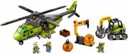 lego city - vulkan - forsyningshelikopter - 60123 - Lego