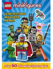 lego(r) minifigures. en aktivitetsbog med klistermærker - bog