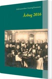 lemvigarkivernes årbog 2016 - bog