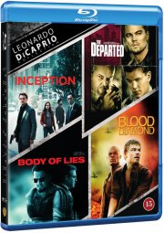 inception // the departed // blood diamond // body of lies - Blu-Ray