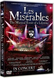 les miserables - the 25th anniversary - DVD