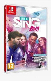 let's sing 2018 + 2 microphones - Nintendo Switch