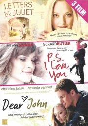 ps i love you // dear john // letters to juliet - DVD