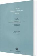 lexicon mediae latinitatis danicae 6 - bog