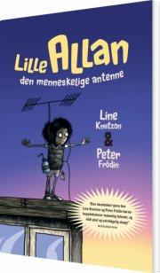 lille allan - den menneskelige antenne - bog