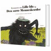 eventyret om lille ida og den sorte menneskeæder - bog