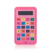 lille itablet lommeregner i pink - Skole