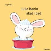lille kanin skal i bad - bog