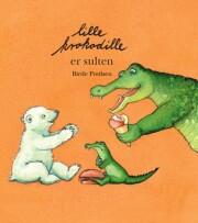lille krokodille er sulten - bog