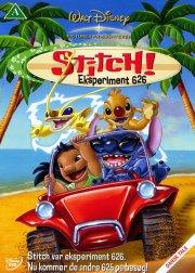 lilo og stitch / lilo and stitch - eksperiment 626 - disney - DVD