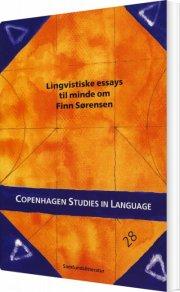 lingvistiske essays til minde om finn sørensen - bog