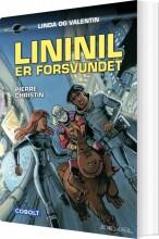 lininil er forsvundet - bog