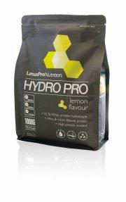 proteinpulver / protein pulver - linuspro hydropro - lemon - 1 kg - Kosttilskud