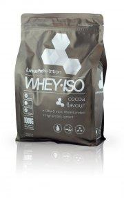 proteinpulver / protein pulver - linuspro valleprotein - kakao - 1 kg - Kosttilskud