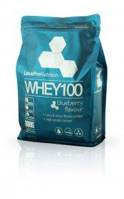 linuspro nutrition - proteinpulver - blåbær - 1kg - Kosttilskud