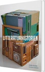 litteraturhistorien - kort fortalt - bog