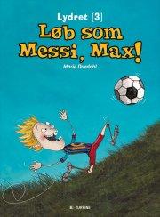 løb som messi, max - bog