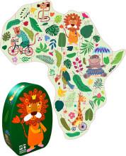 puslespil til børn - dyremotiver - 41 brikker, fra 3 år - Brætspil