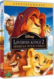 løvernes konge 2 - simbas stolthed - disney - DVD