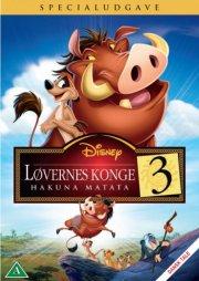 løvernes konge 3 - hakuna matata - disney - DVD