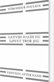 løvet tror jeg / leyvið haldi eg - bog