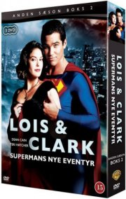lois and clark - sæson 2 - vol. 2 - DVD