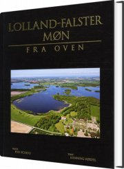 lolland-falster - møn fra oven - bog