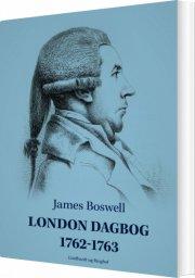london dagbog 1762-1763 - bog