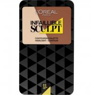 l'oreal infallible sculpt palette - 03 medium mørk - Makeup