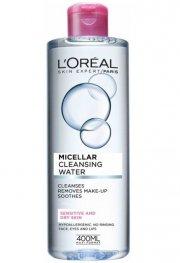 l'oréal - micellar water dry skin 400 ml - Hudpleje