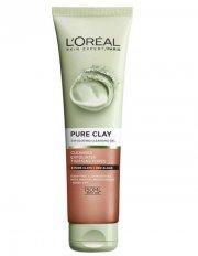 l'oréal pure clay scrub gel - 150 ml - Hudpleje