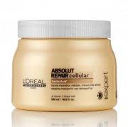loreal professionnel serie expert - absolut repair cellular hårmaske - 500 ml. - Hårpleje