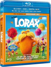 the lorax - skovens beskytter - dr. seuss  - Blu-ray + Dvd