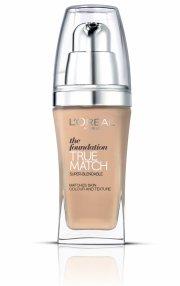l'oreal foundation - true match liquid foundation - w8 golden cappuccino - Makeup