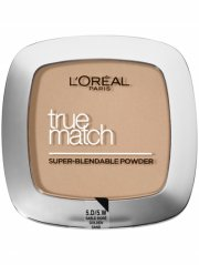 l'oreal pudder - true match - fv 5 golden sand - Makeup