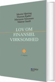 lov om finansiel virksomhed - med kommentarer - bog