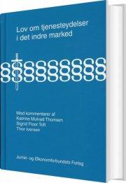 lov om tjenesteydelser i det indre marked - bog
