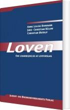loven - om udarbejdelse af lovforslag - bog