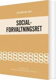 lovsamling 2015 socialforvaltningsret - bog
