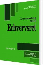 lovsamling 2016 - erhvervsret - bog